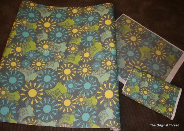 Kakapo Gift wrap_Wallpaper_fabric