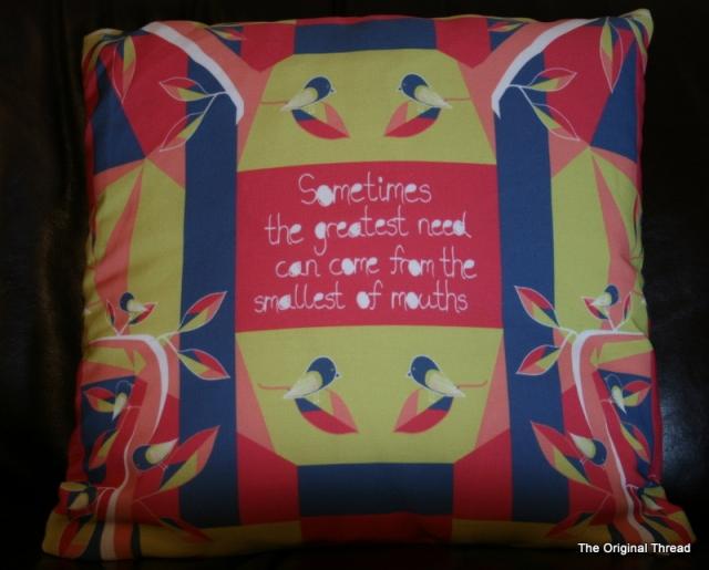 Matisse Inspired Cushion