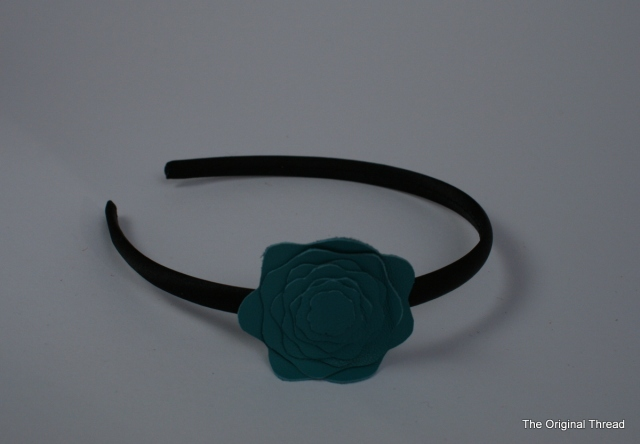 Blue Flower Headband