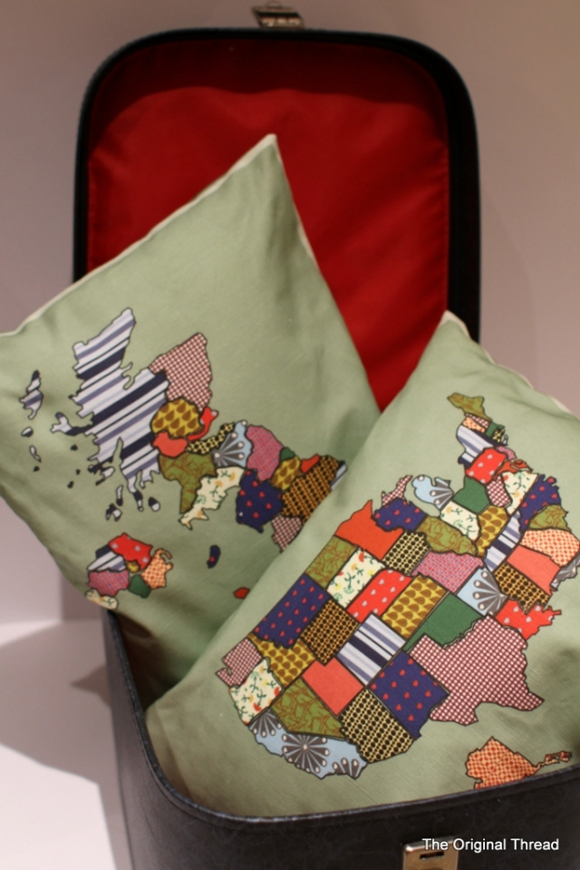 UK and USA double sided cushions