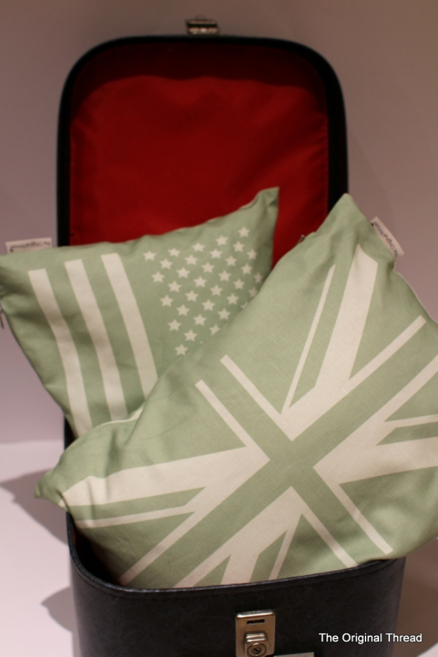 Country Cushions - map side