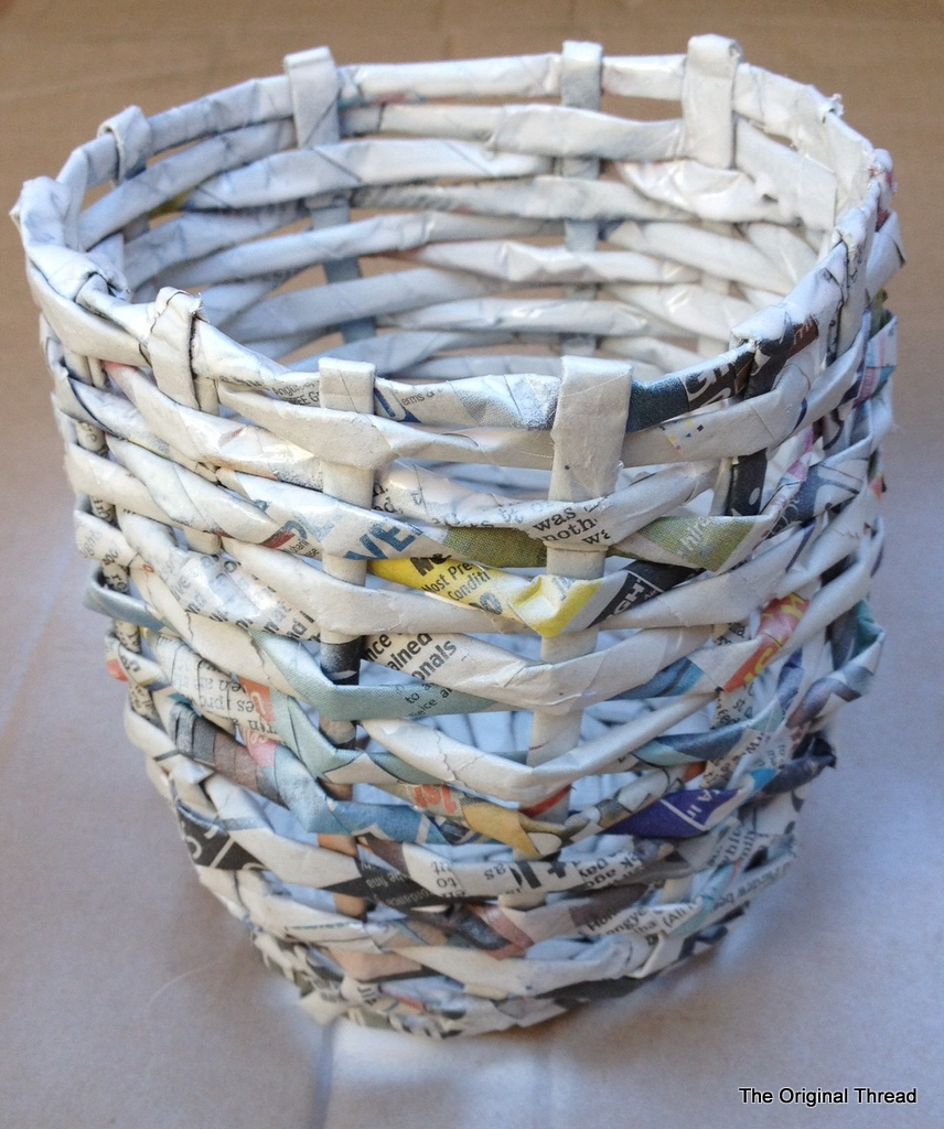 How to Make a Newspaper Basket How to Make a Newspaper Basket new pics