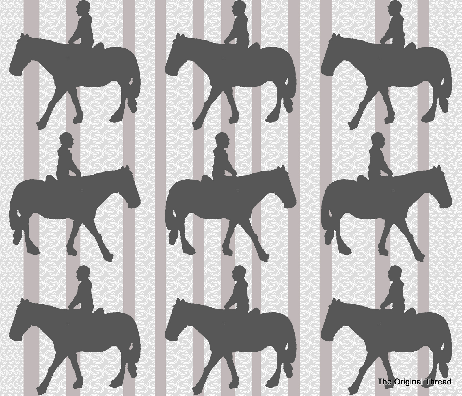 Wonderful Wallpaper Horse Pattern - horseshoestripesfinal2b  Pic_53757.jpg