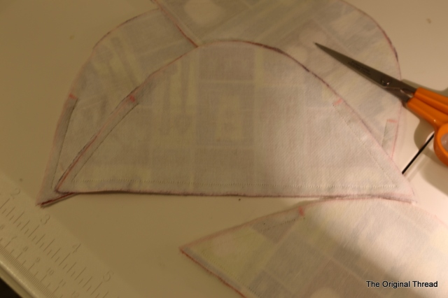 seams for outer fabric