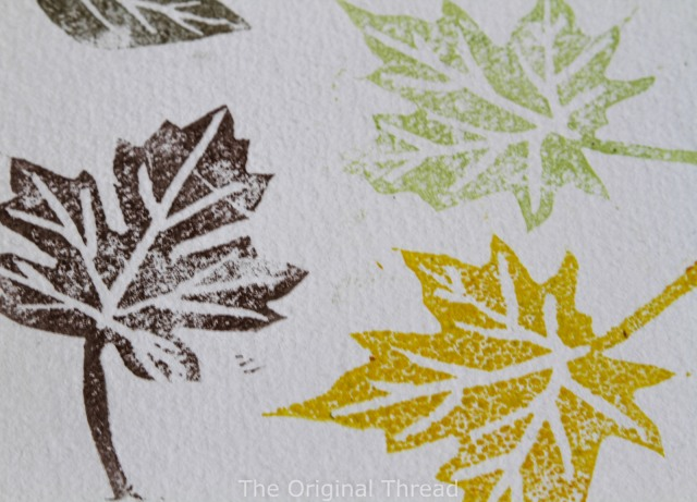 stamped leaves close up 2 (1 of 1)