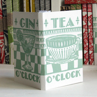 InkyPrintTeaGinNotebook