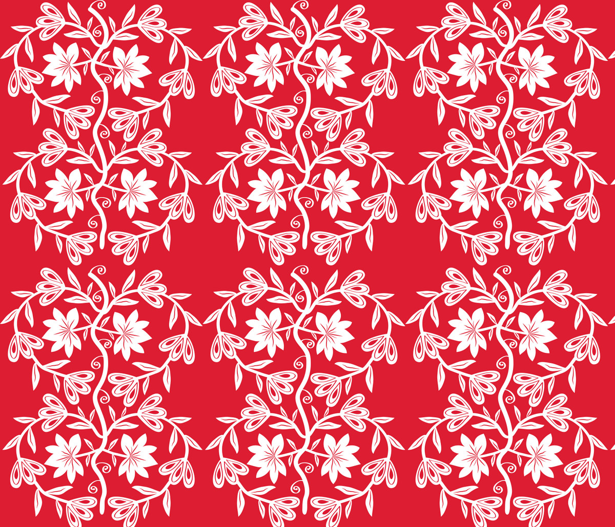 ... Chinese Paper Cutting inspired design for the Spoonflower competition