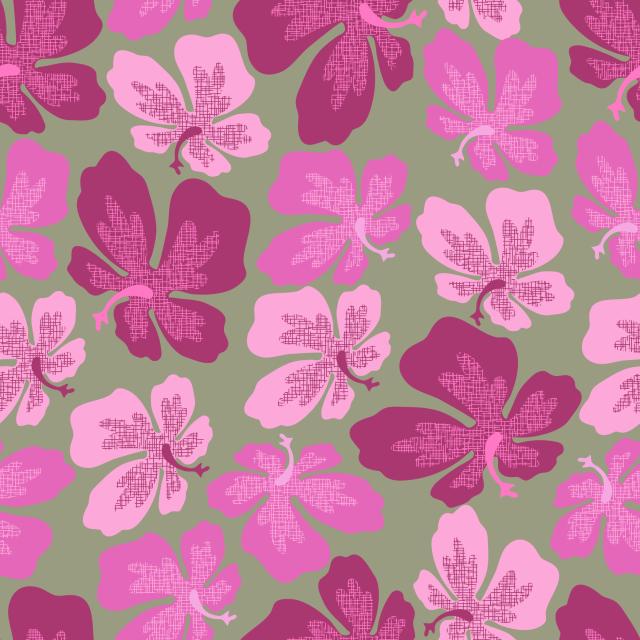 hibiscus textured-01