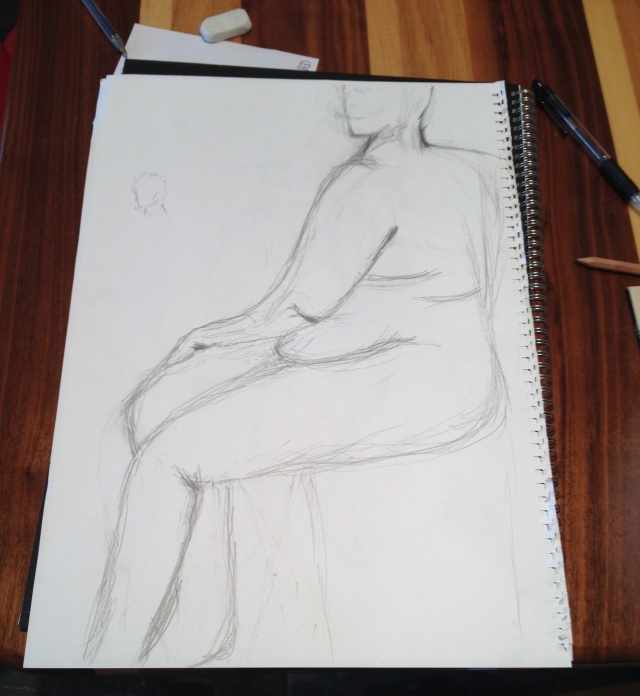 life drawing lesson 1