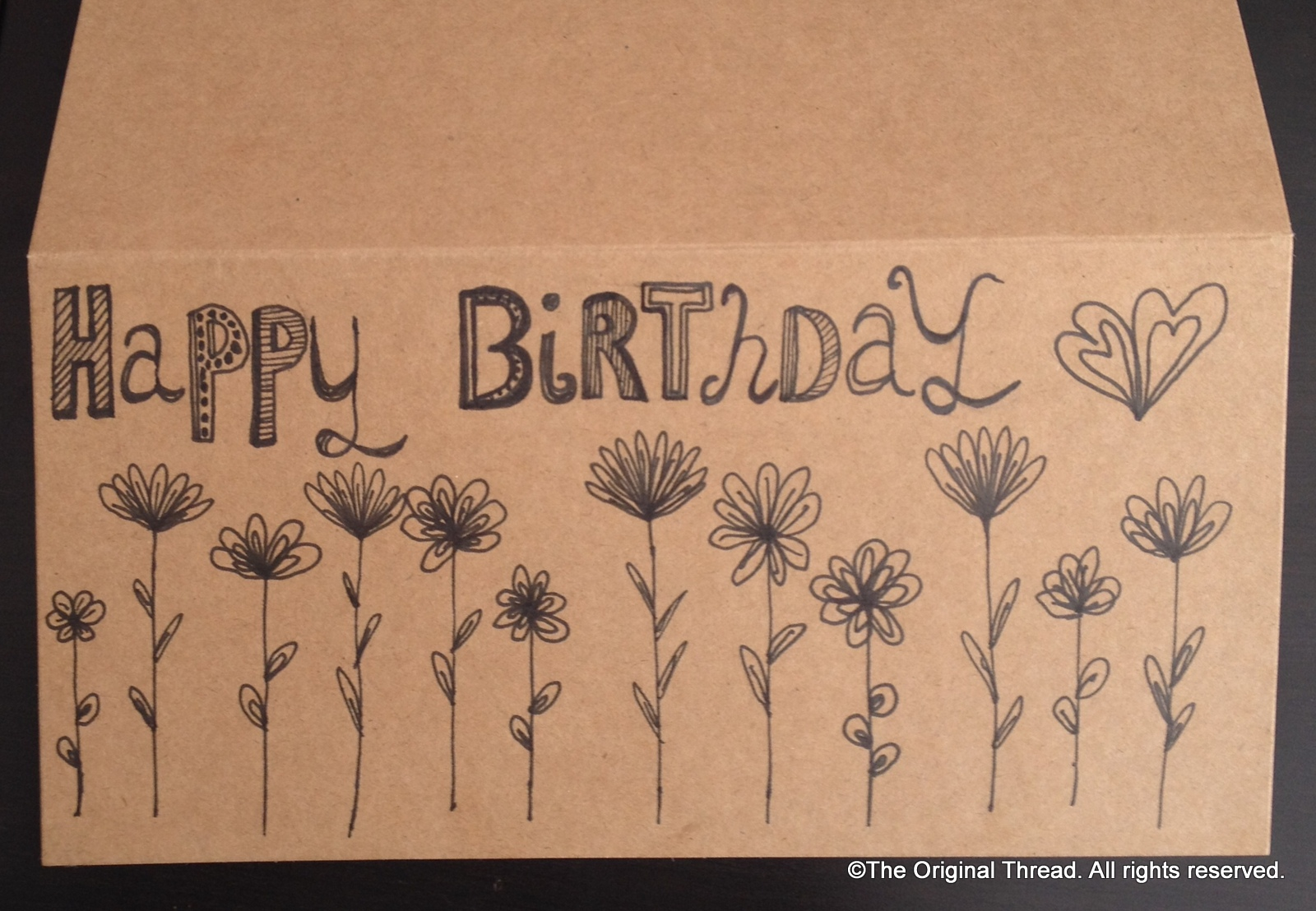 new surface designs  a time to grow  theoriginalthread, Birthday card
