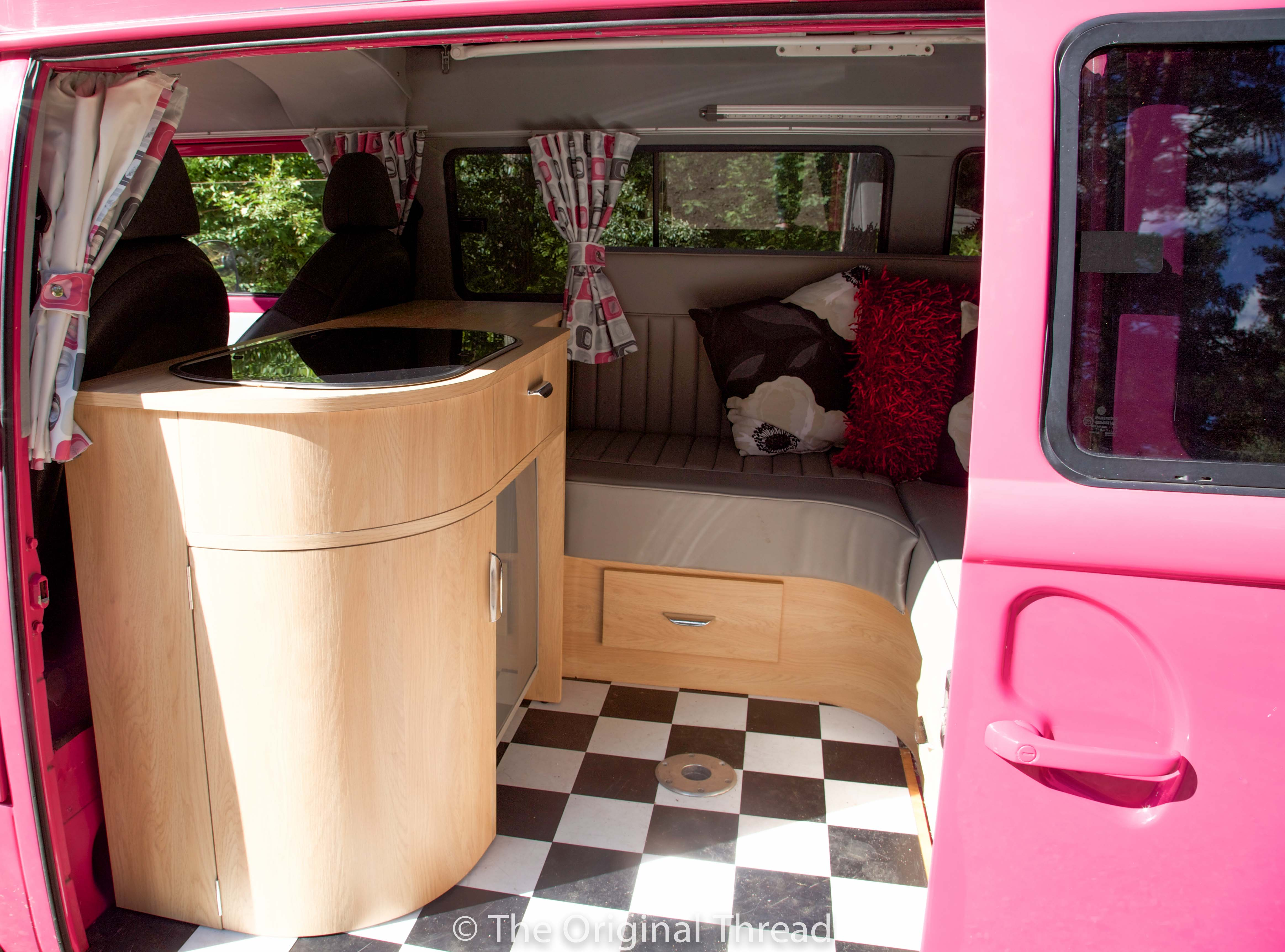 Vw Campervan A Labour Of Love For Pinky