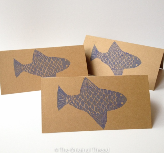 Fish LinoPrint